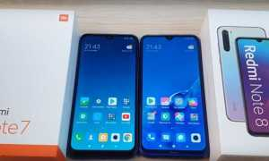 Сравнение Xiaomi Redmi Note 8 с предшественником Note 7